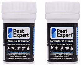 Pest Expert Formula 'P' Cluster Fly Smoke Bombs (Twinpack)